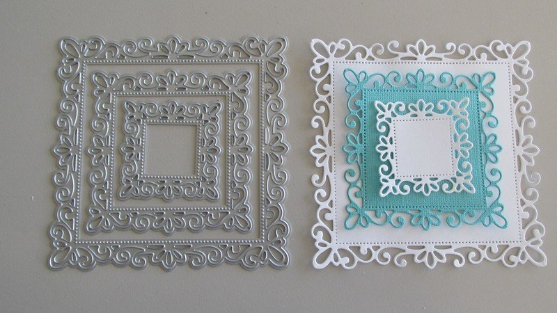 Fancy Frame die set