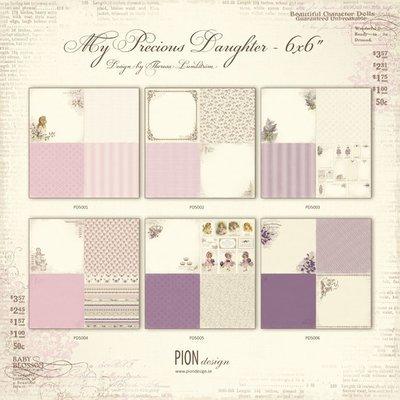 PION DESIGN My Precious Daughter 6x6 - Click to Select
