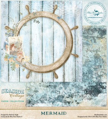 BLUE FERN STUDIOS Seaside Cottage 12x12 - Click to Select