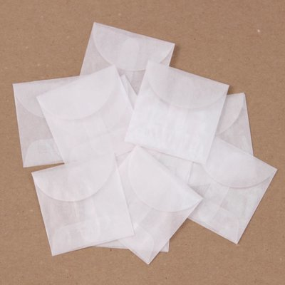 Glassine Envelopes - Click to Select Style & Size