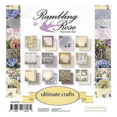 Rambling Rose 6x6 paper pad