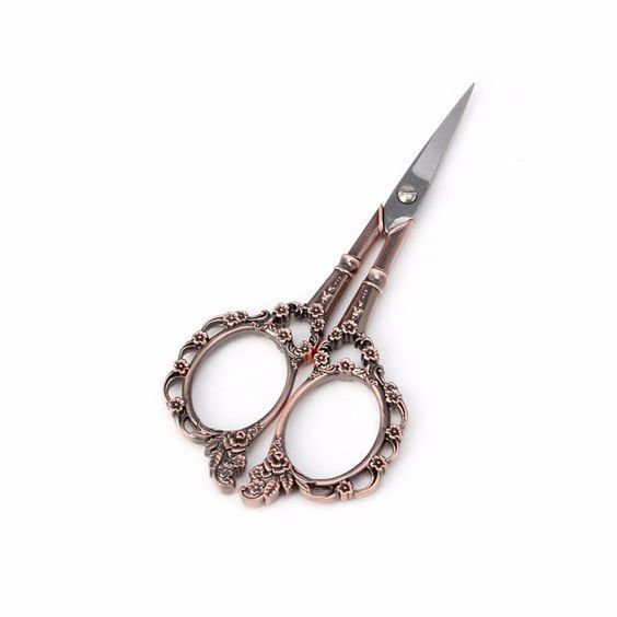 Stainless Steel Vintage Style Scissors 4.5""