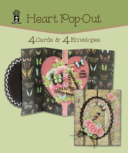 Heart Pop Out Card Set