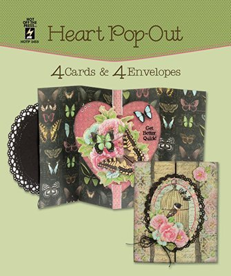 Heart Pop Out Card Set