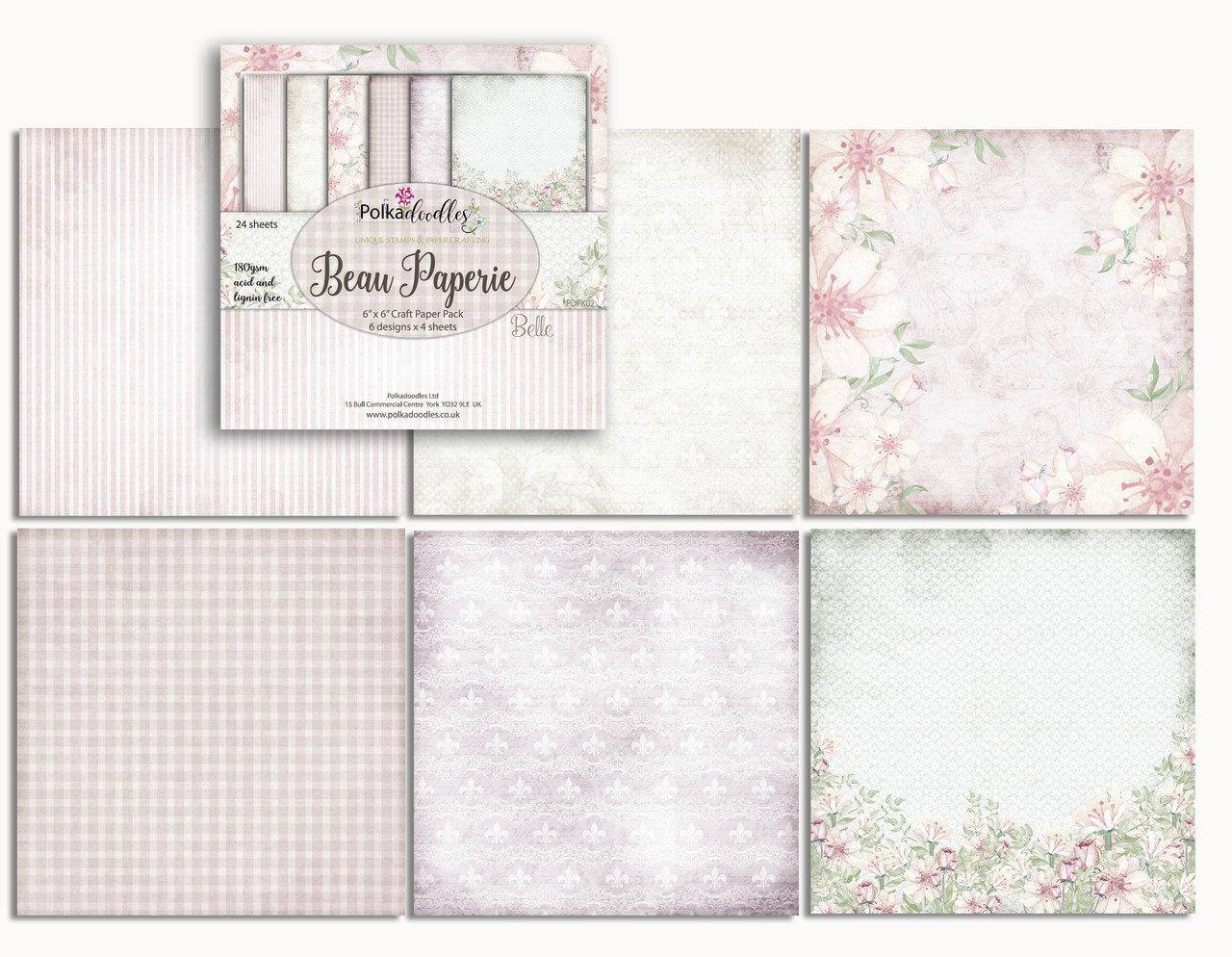BELLA FLEUR 6x6 Paper Pad