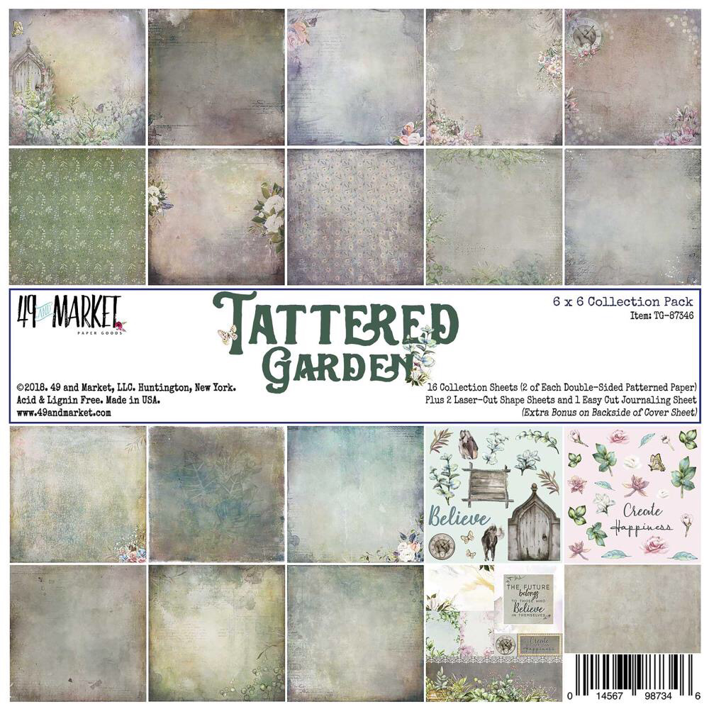 Tattered Garden paper pack