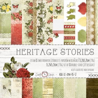 HERITAGE STORIES 6x6 Paper set