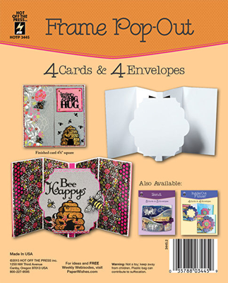 Frame Pop-Out Card Set
