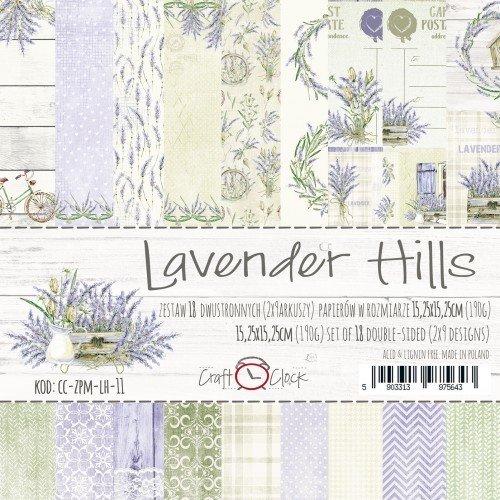 LAVENDER HILLS 12x12 Paper Collection