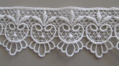 Five Point Lace - White