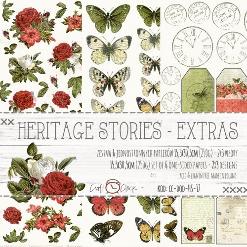 HERITAGE STORIES - EXTRAS