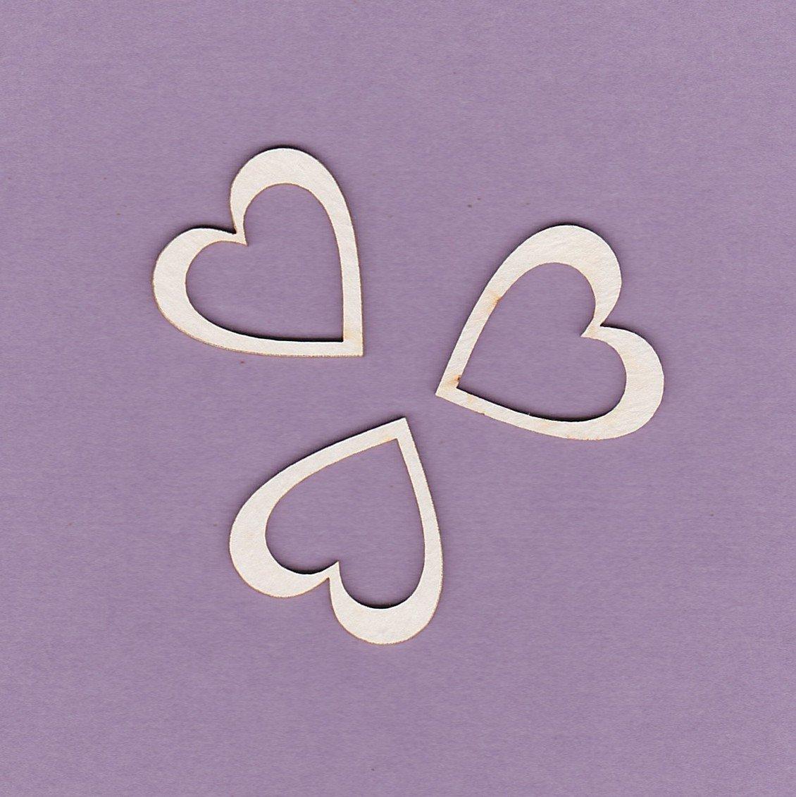 Hearts - 3 pieces