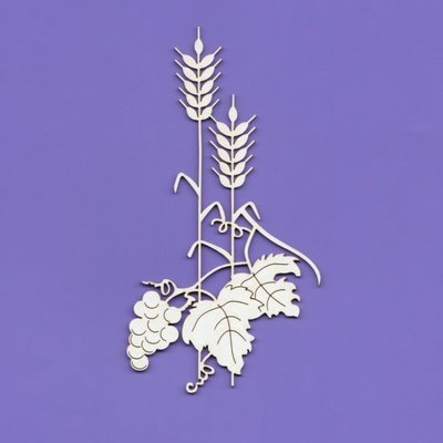 Wheat With Grapes 2