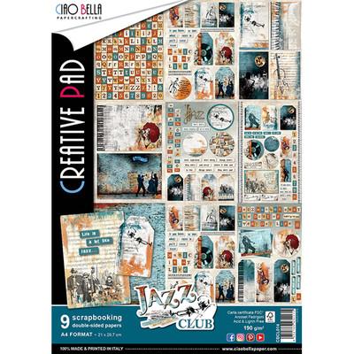 Ciao Bella JAZZ CLUB A4 Paper Pack