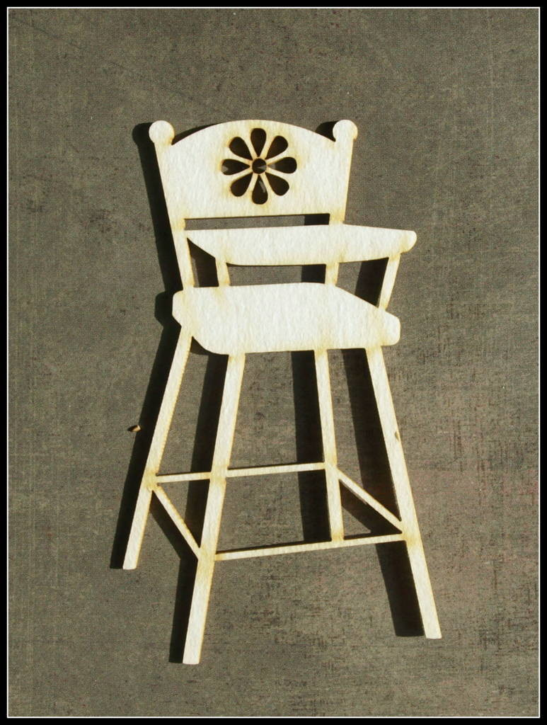 Highchair with Flower