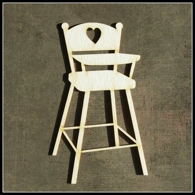 Highchair with Heart