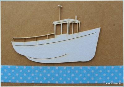 Fishing Boat chipboard
