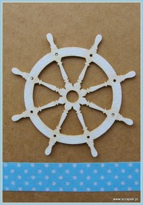 Ship's Wheel chipboard