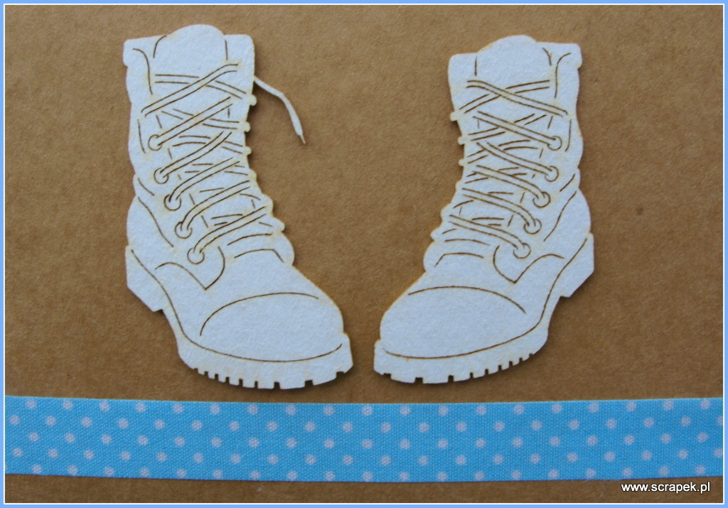 Lace Up Boots chipboard