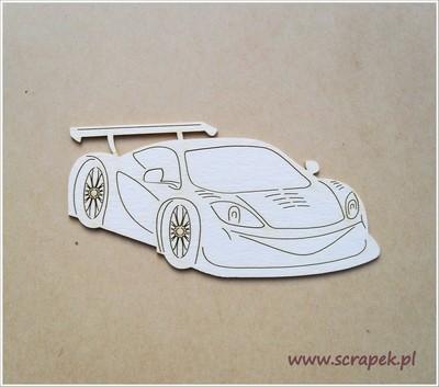 Racing Car chipboard