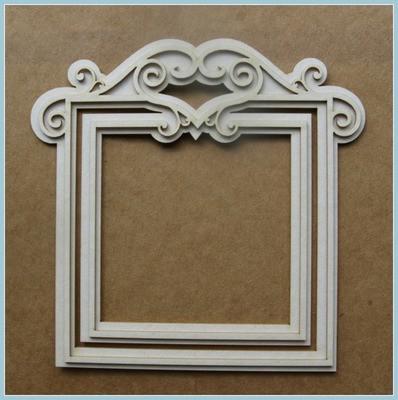 Baroque Frame 2D