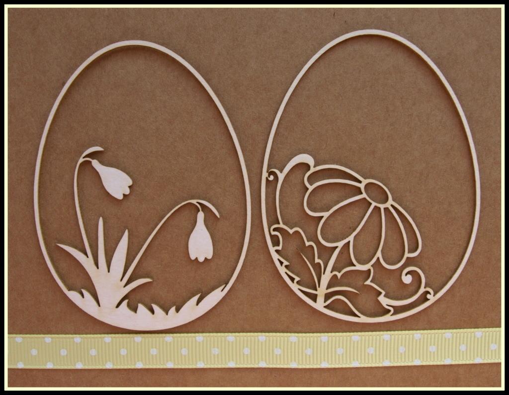 Snowdrop & Daisy Eggs