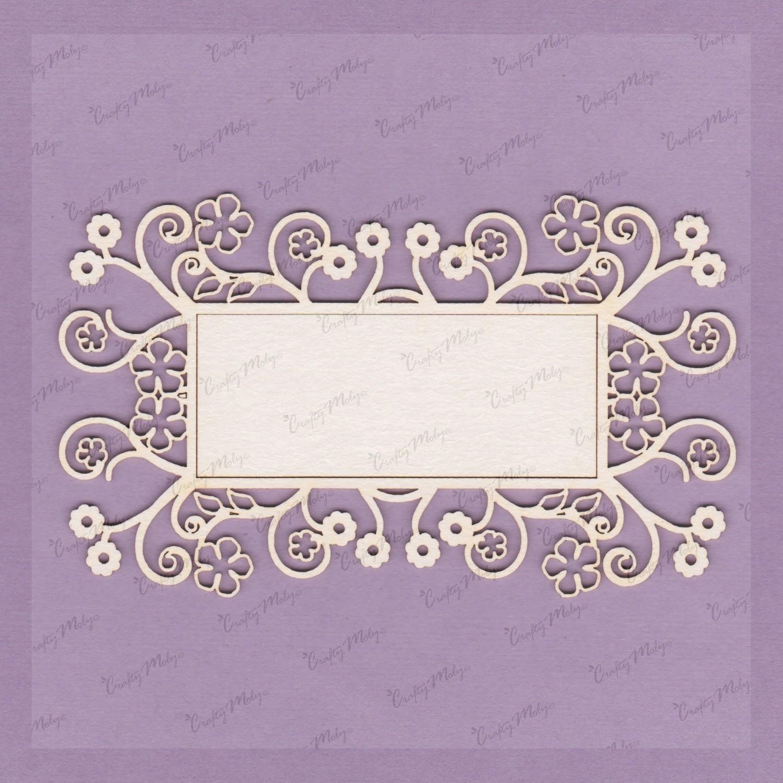 Decorative Rectangular Frame 3