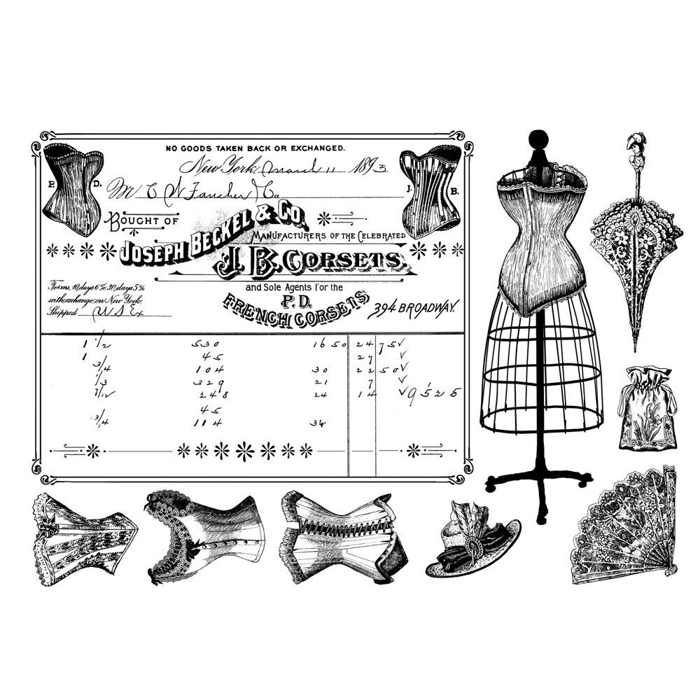French Corsets stamp