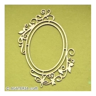Oval Frame 7