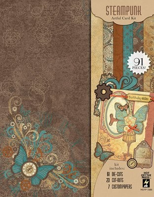 Steampunk Artful Card Kit