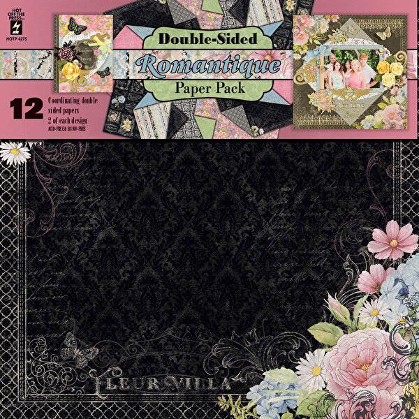 Romantique 12x12 Paper Pack