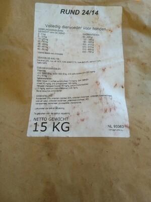 Rund Premium 24/14 Geperst - 15KG