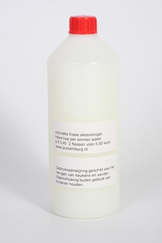 Citronelreiniger fles 1 liter