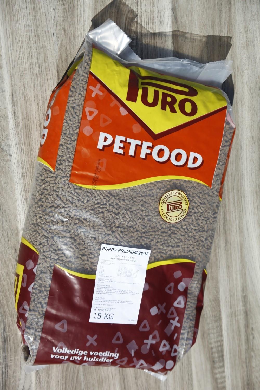 Premium puppy koud geperst 28/16 15 kg