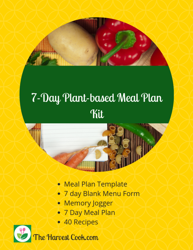 7 Day Plant-based Meal Plan