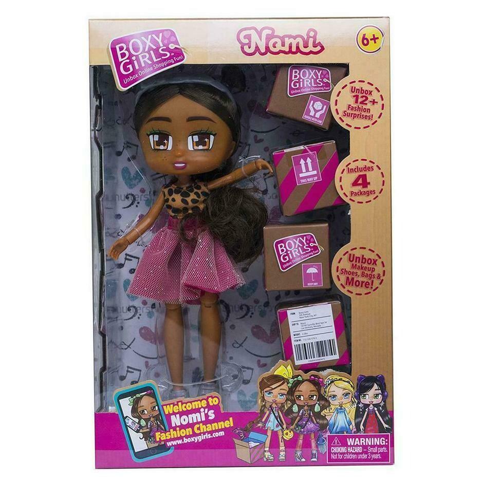 Boxy Girls Fashion Surprises Doll - Nomi