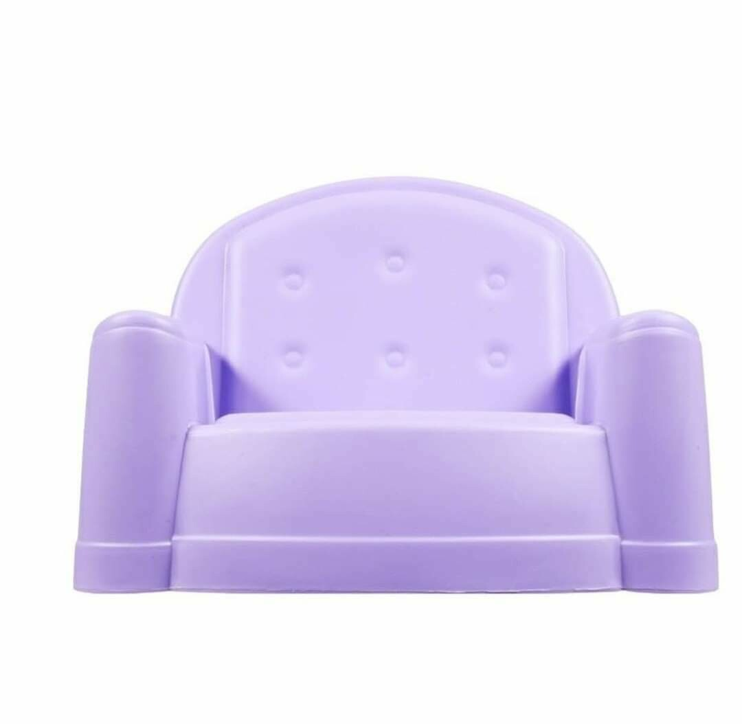 PURPLE  SOFA  CHAIR