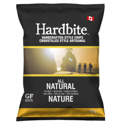 Hardbite - Kettle Chips - All Natural - 45x23g