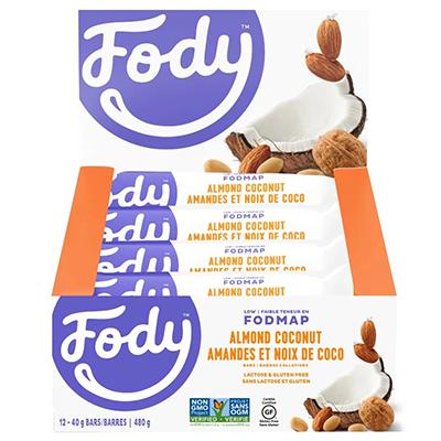 Fody's - Energy Bar - Almond Coconut - 12x40g