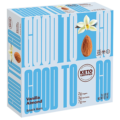 Good To Go - Soft Baked Bars - Vanilla Almond - 9x40g