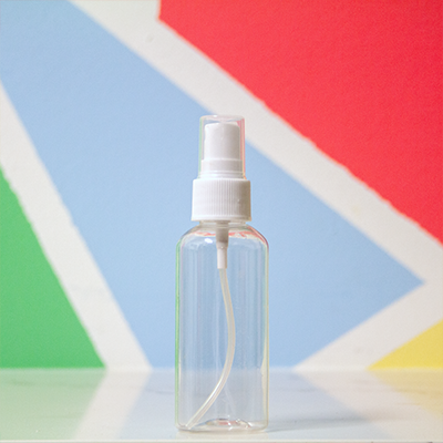 Hand Sanitizer Spray Bottle (Empty) - 60mL