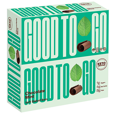 Good To Go - Soft Baked Bars - Chocolate Mint - 9x40g