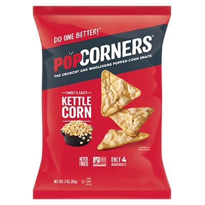 Popcorners - Whole Grain Chips - Sweet & Salty - 40x28g