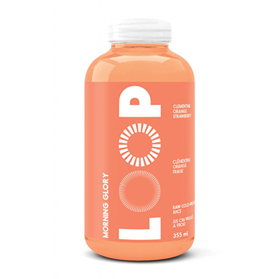 Loop - Cold Pressed Juice - Morning Glory - 6x355mL (3-5 Day Lead Time)