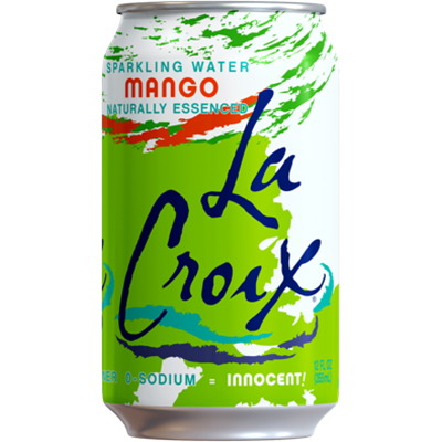 *NEW* - La Croix - Sparkling Water - Mango - 8x355mL