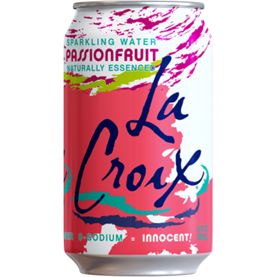 *NEW* - La Croix - Sparkling Water - Passionfruit - 8x355mL