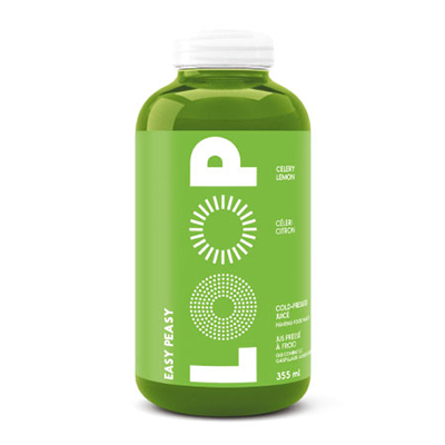 Loop - Cold Pressed Juice - Easy Peasy - 6x355mL (3-5 Day Lead Time)