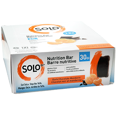 *NEW* - Solo Gi - Protein Bar - Dark Chocolate Mandarin - 12x50g