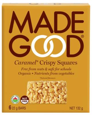 *New* - Good - Crispy Squares - Caramel - 36x22g