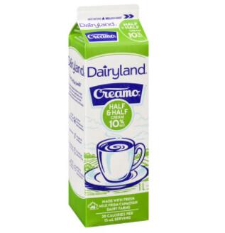 Dairyland - Cream - Half and Half - 1L